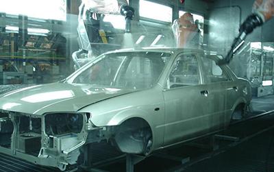 比亚迪汽车表面处理合作案例